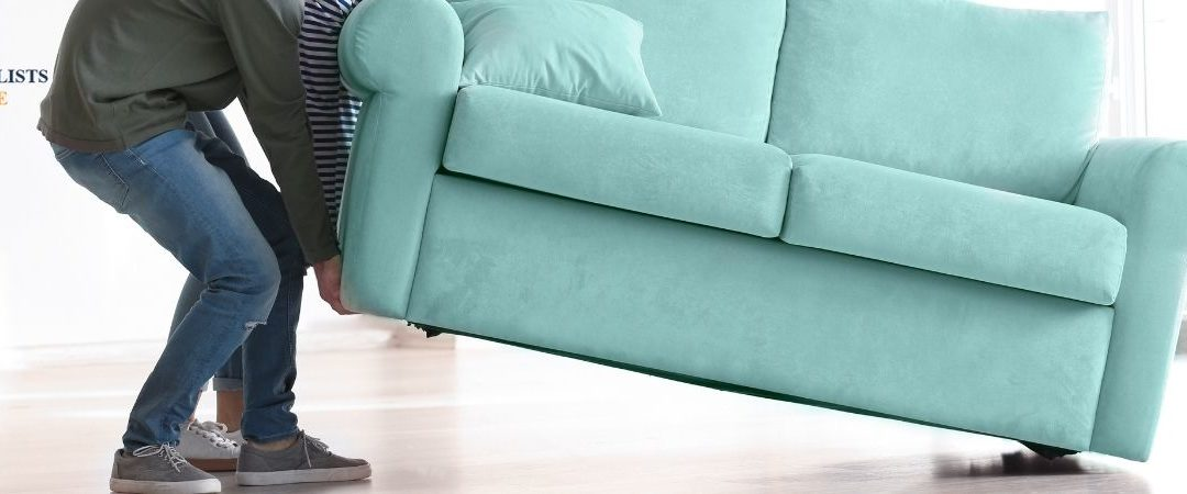 How to Move a Couch/Lounge Interstate